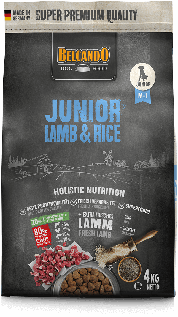 Belcando-Junior-Lamb-Rice-4kg-front